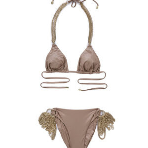 Beach Bunny Ball and Chain Bikini Top and Bottom